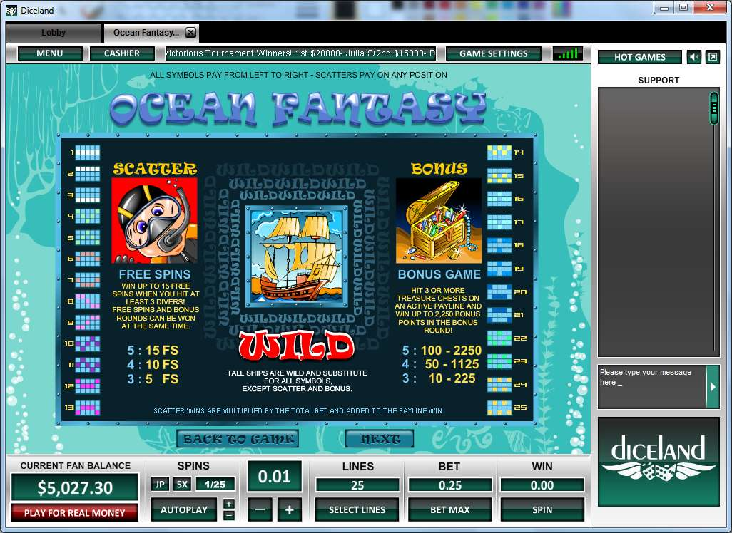 Game Review Ocean Fantasy
