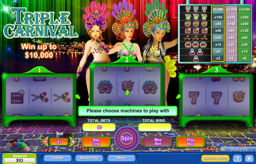 Game Review Triple Carnival