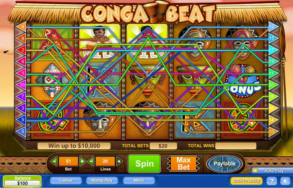 Game Review Conga Beat