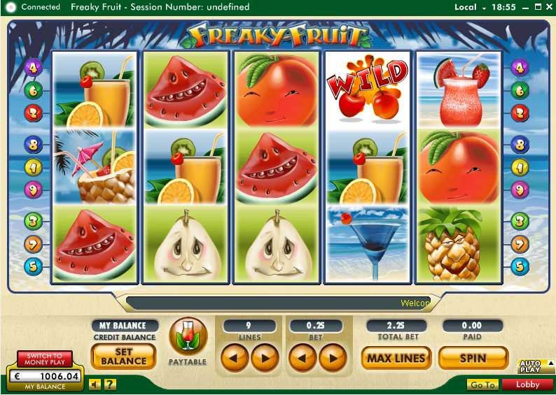 Game Review Freaky Fruit