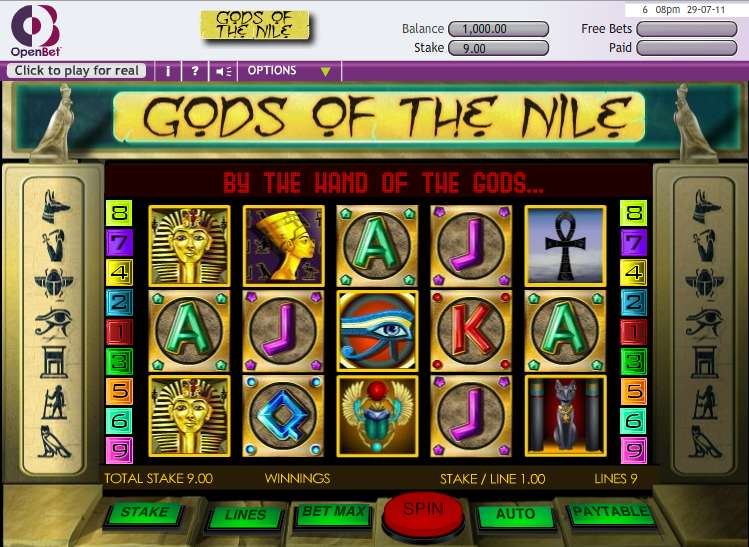 Game Review Gods of the Nile