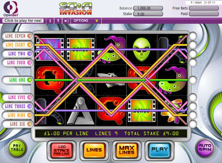 Game Review Sci Fi Invasion