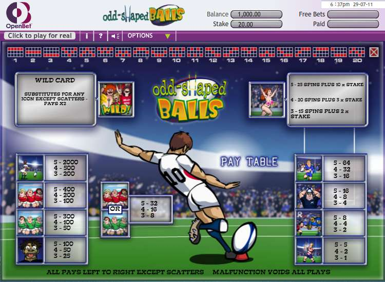 Game Review Odd Shaped Balls