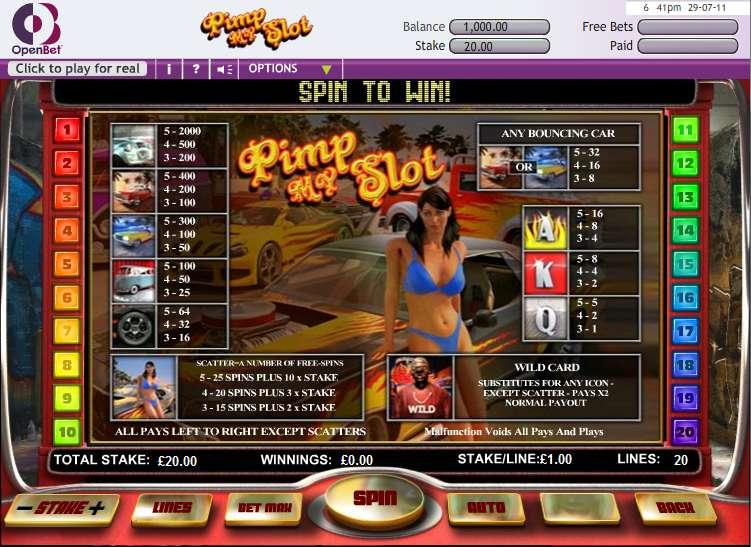 Game Review Pimp My Slot