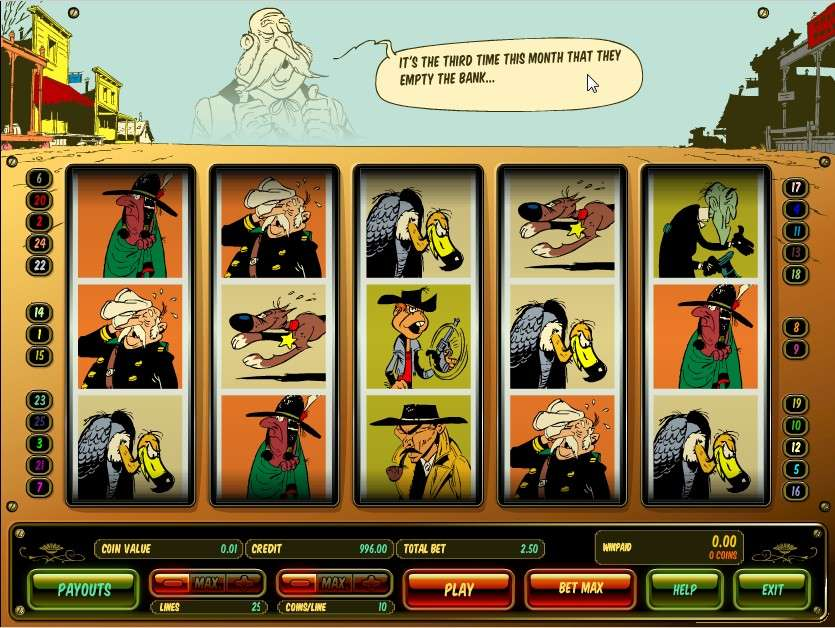 Game Review Lucky Luke