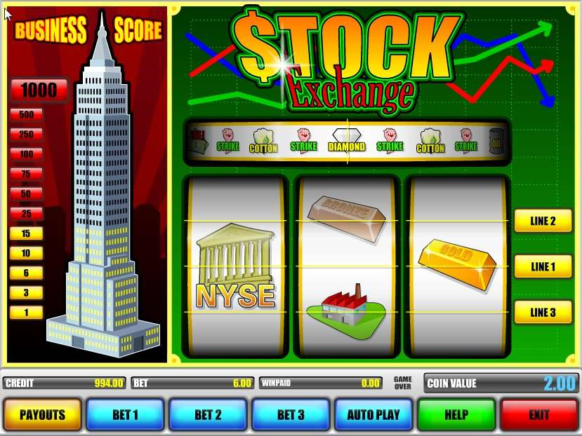 Game Review Stock Exchange
