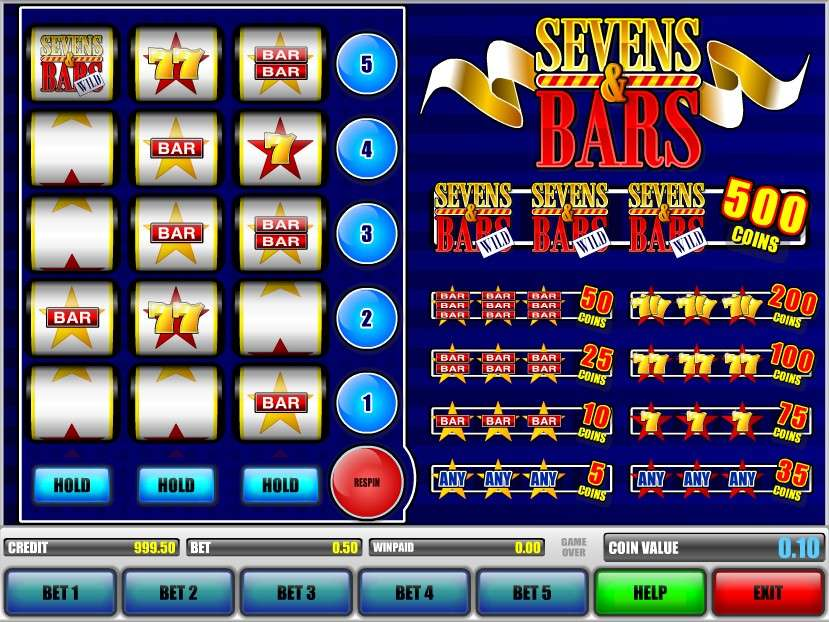 Game Review Sevens & Bars