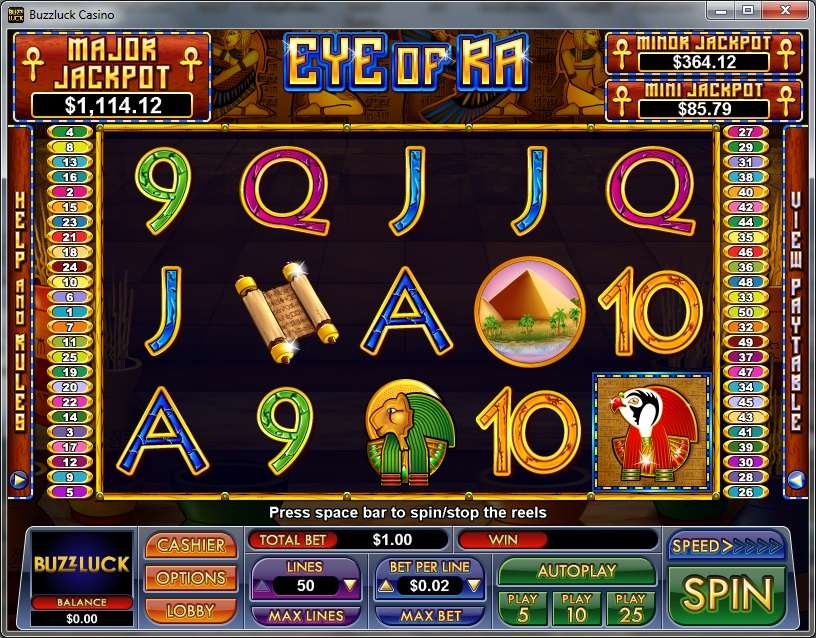 Game Review Eye Of Ra