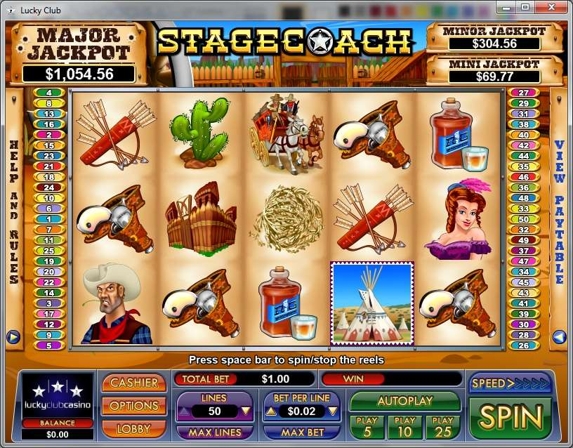 Game Review Stagecoach