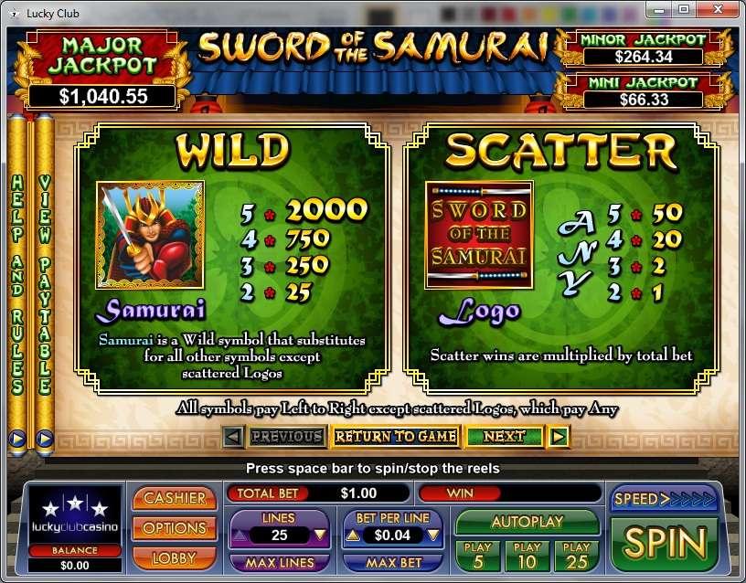 Game Review Sword of the Samurai