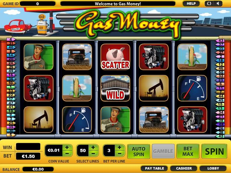 Game Review Gas Money