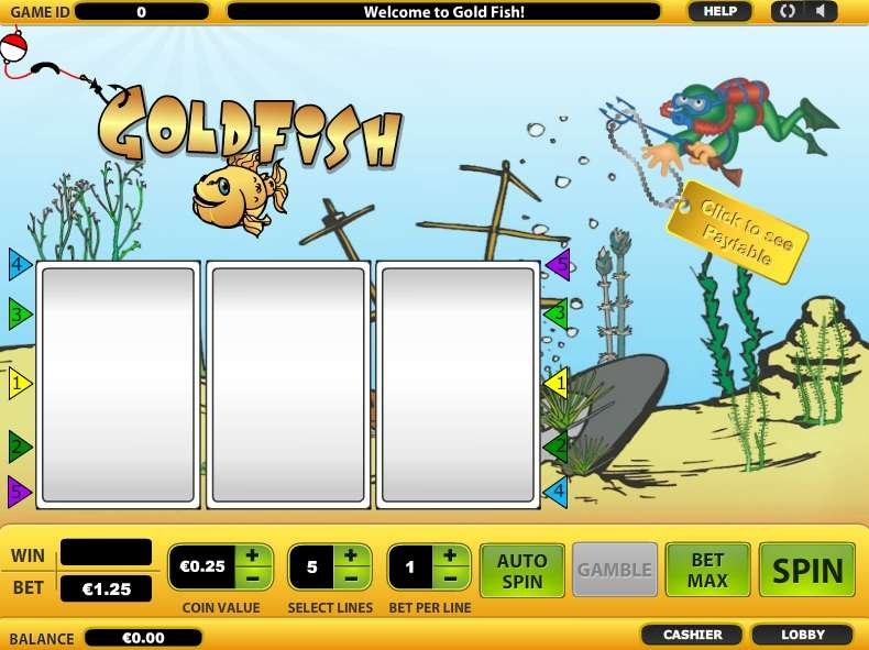 Game Review Gold Fish