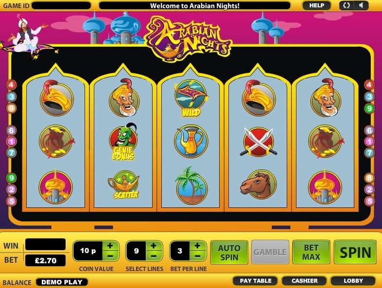 Game Review Arabian Nights