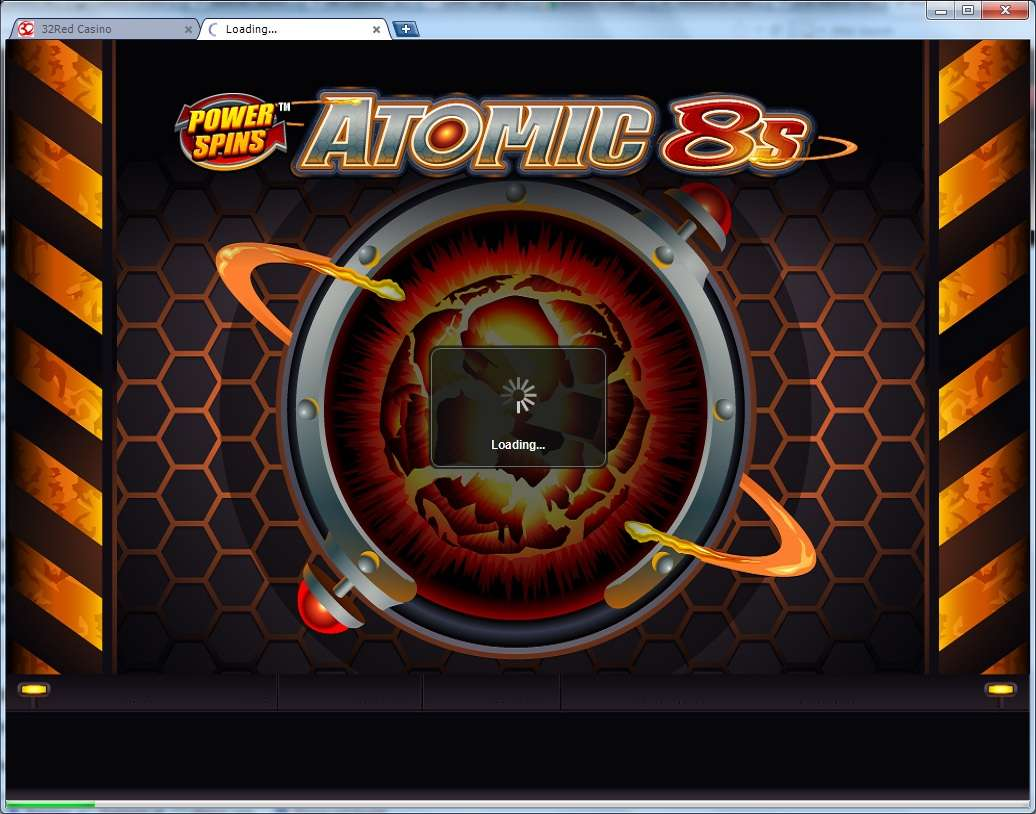 Game Review Power Spins - Atomic 8's