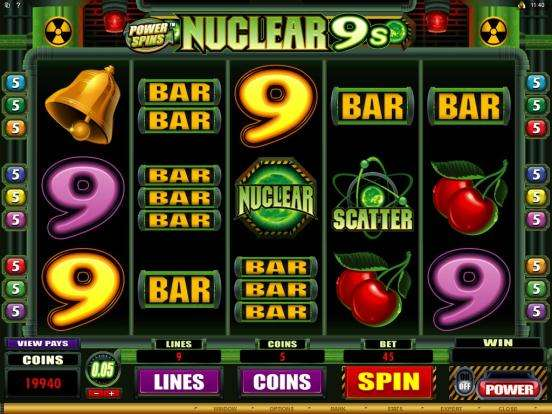 Game Review Power Spins - Nuclear 9's