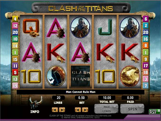 Game Review Clash of the Titans