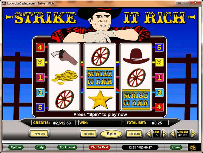 Game Review Strike It Rich
