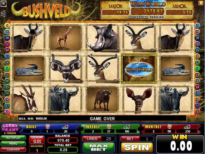 Game Review Bushveld