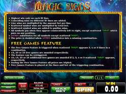 Game Review Magic Signs