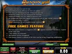 Game Review Runnin' Wild
