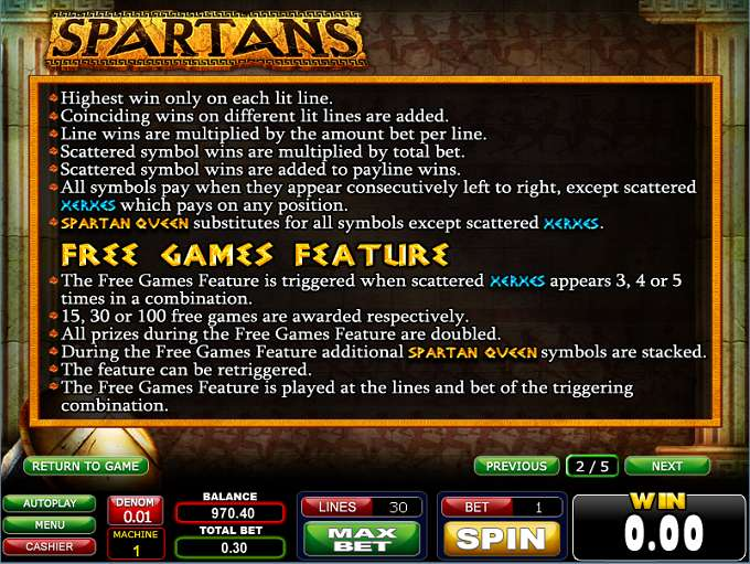 Game Review Spartans