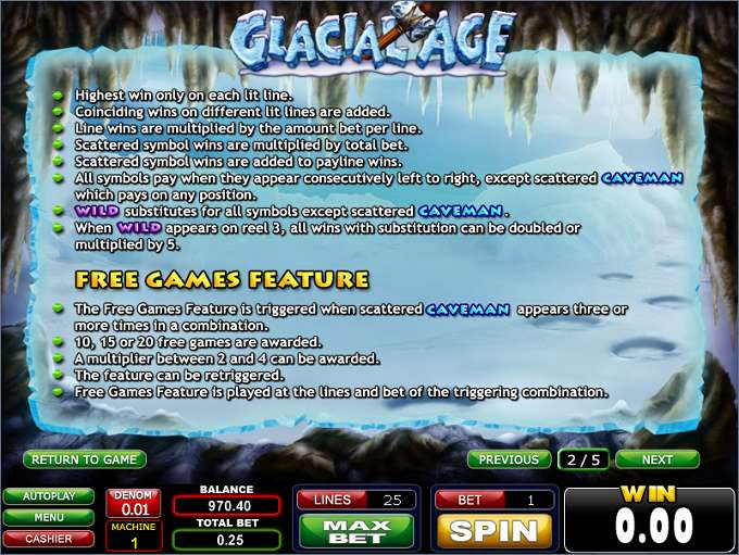 Game Review Glacial Age