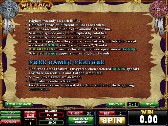 Game Review Buffalo Run