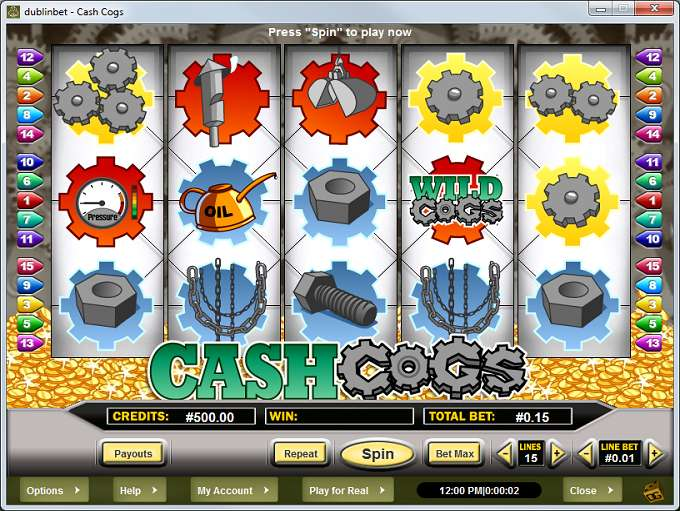 Game Review Cash Cogs