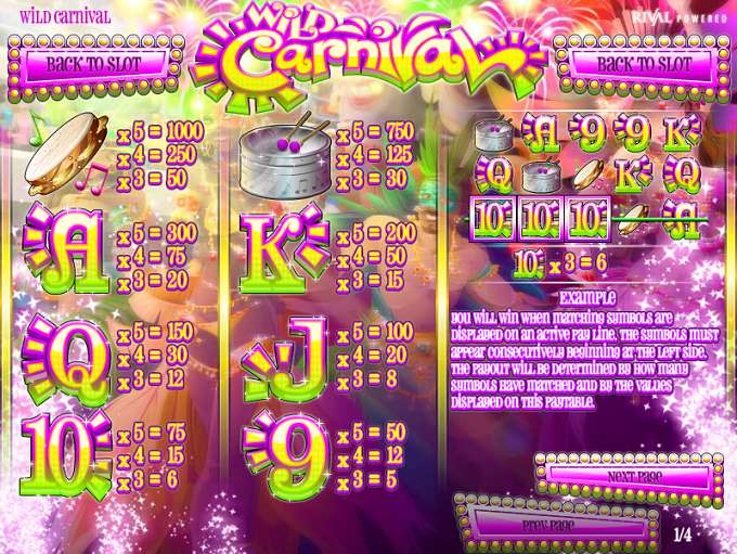 Game Review Wild Carnival