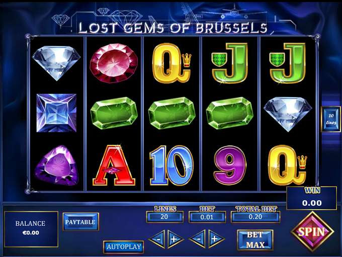 Game Review Lost Gems of Brussels