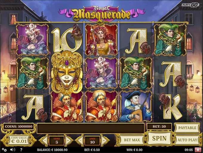 Game Review Royal Masquerade