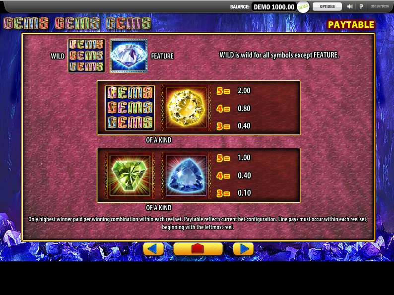 Game Review Gems Gems Gems