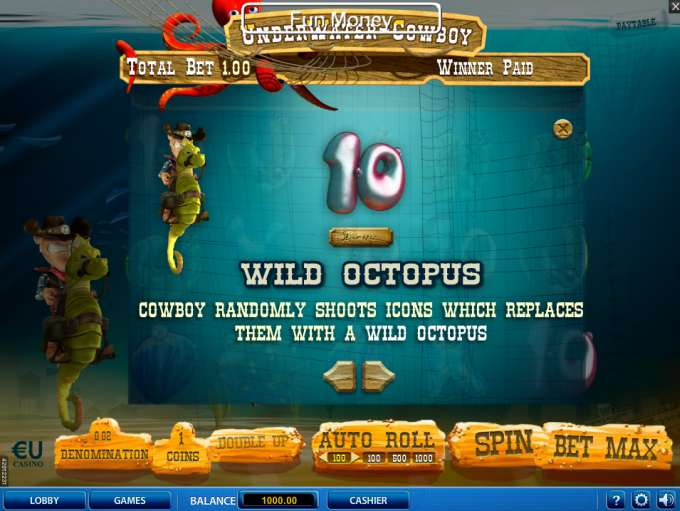 Game Review Underwater Cowboy