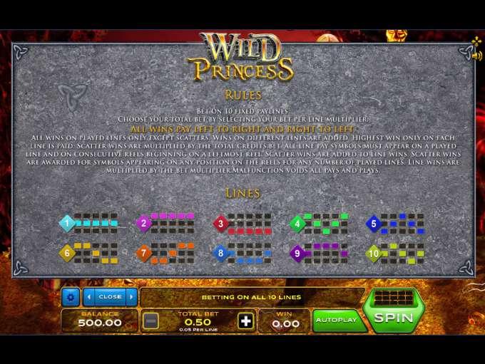 Game Review Wild Princess