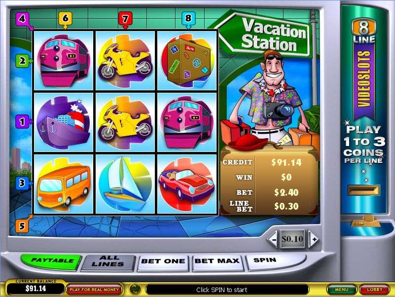 Game Review Vacation Station Slot
