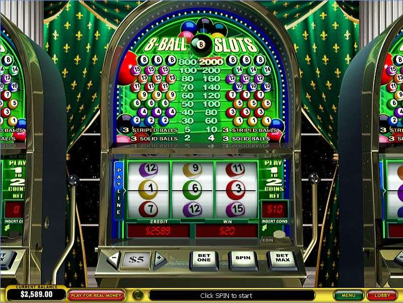 Game Review 8-Ball Slots