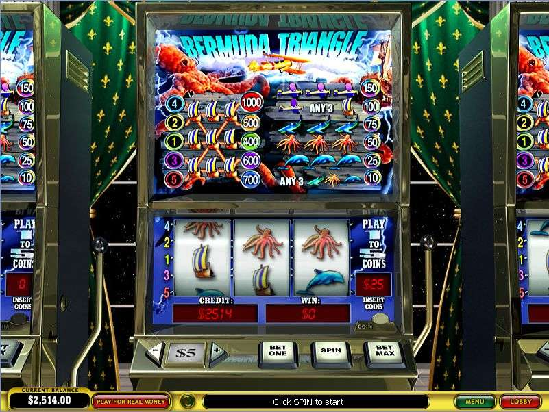 Game Review Bermuda Triangle Slot