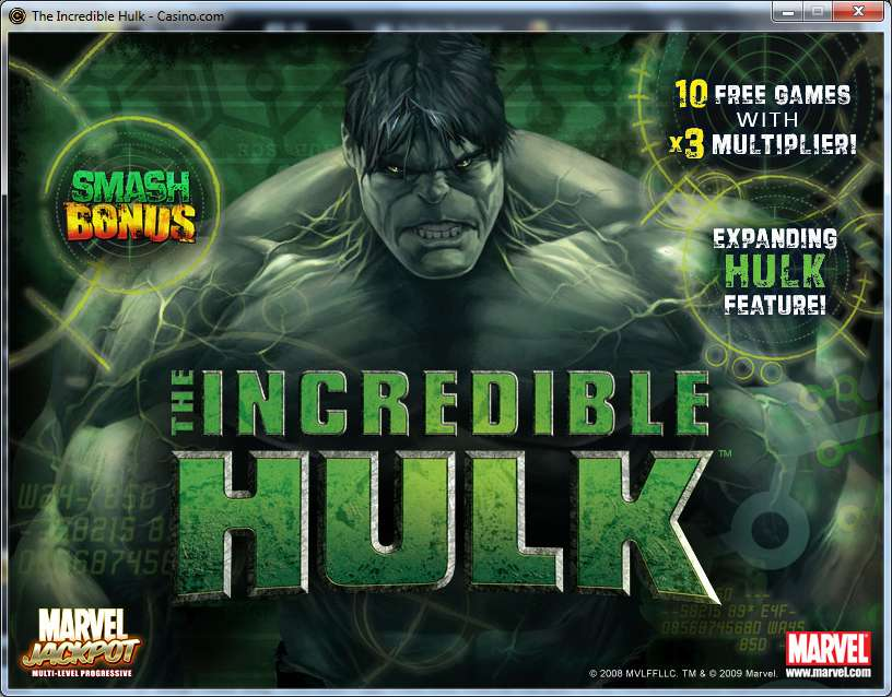 Game Review The Incredible Hulk Slot
