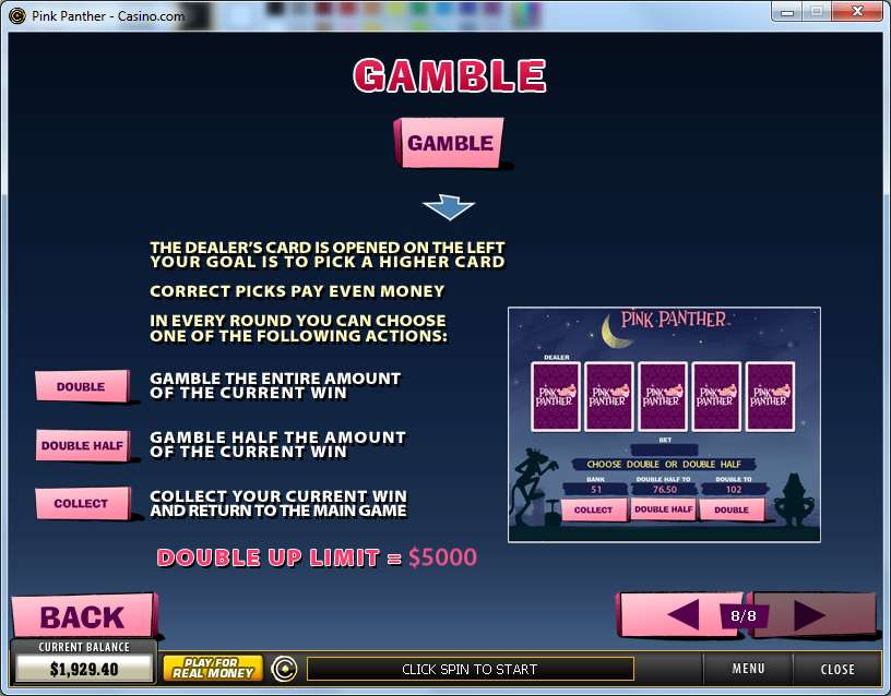 Game Review Pink Panther