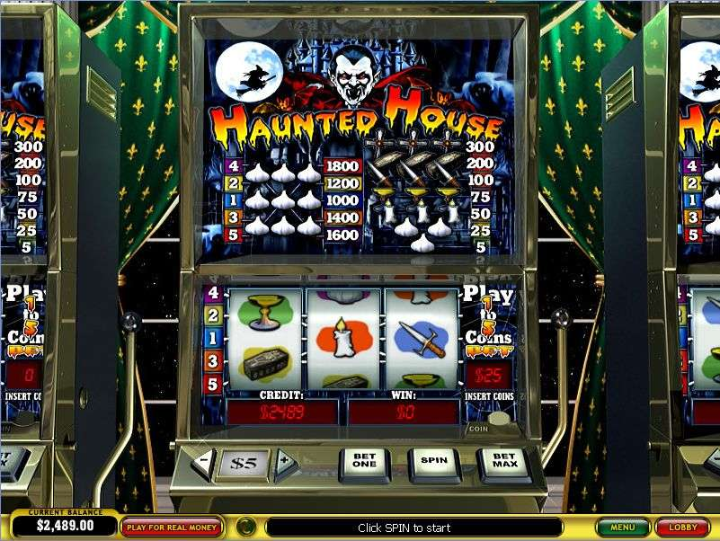 Game Review Haunted House Slot