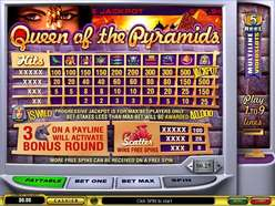 Game Review Queen of the Pyramids Slot