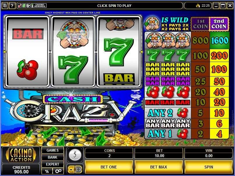 Game Review Cash Crazy