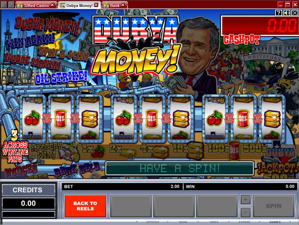 Game Review Dubya Money!