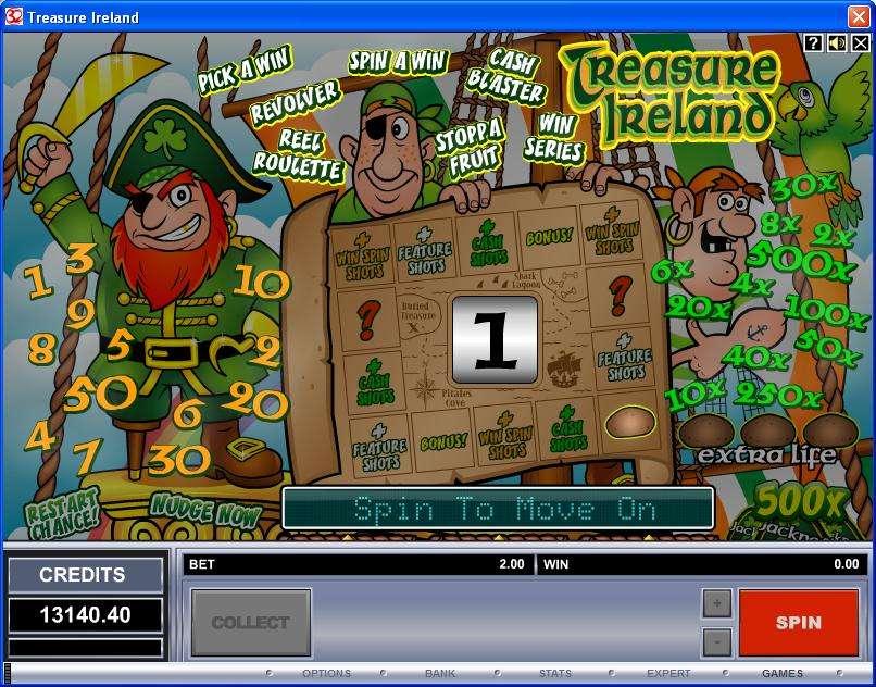 Game Review Treasure Ireland