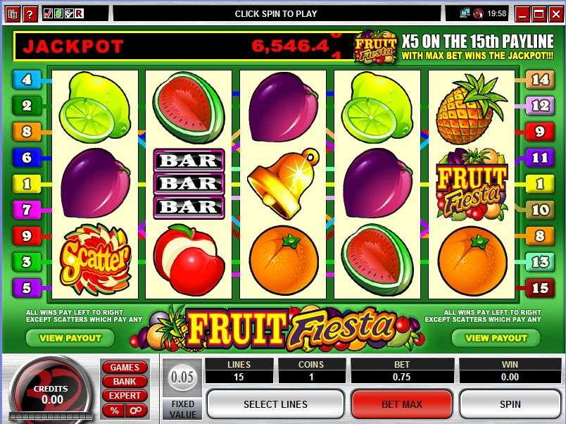 Game Review Fruit Fiesta 5 Reel