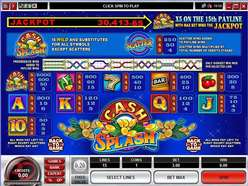 Game Review CashSplash 5 Reel