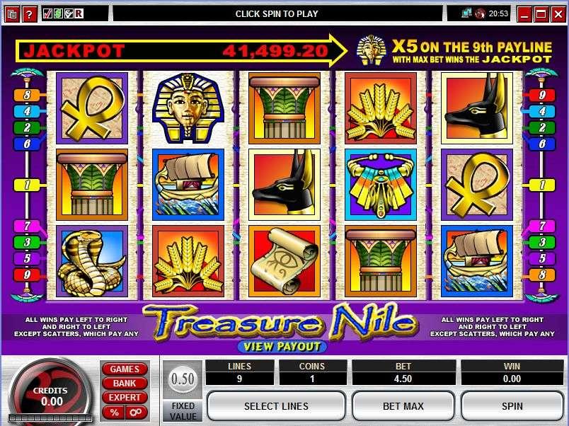 Treasure 20nile 201