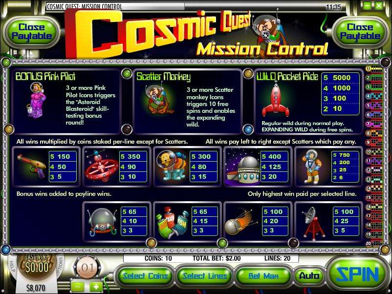 Game Review Cosmic Quest I