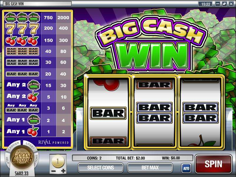 Game Review Big Cash Win