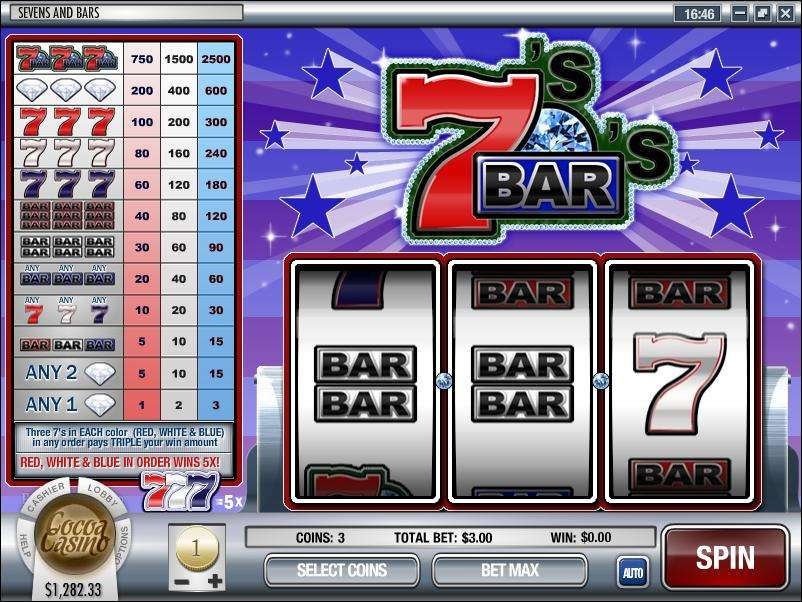 Game Review Sevens and Bars